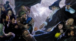 Donato Giancola - The Hobbit - Expulsion.jpg